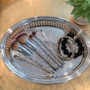 Silver-plated Oval Serving Tray